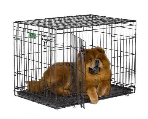 Midwest Icrate Double Door Folding Metal Dog Crate 36