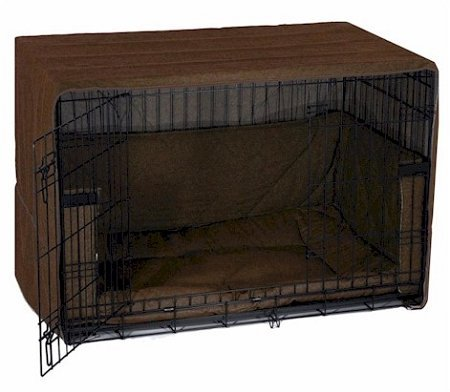 pet dreams side door pet dog home indoor travel crate cover bumper sleeper bed extra large. Black Bedroom Furniture Sets. Home Design Ideas