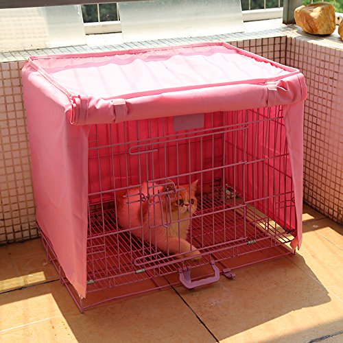 how to make a cover for a dog crate