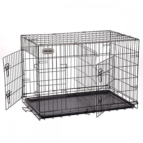 Petpremium Large Dog Crate Xl Pet Carrier Travel Cage